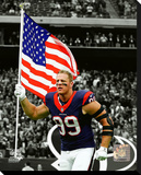 Houston Texans - J.J. Watt Stretched Canvas Print