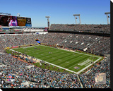 Jacksonville Jaguars EverBank Field Stretched Canvas Print