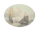 Coastal Shipping II Premium Giclee Print by Samuel Atkins