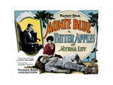 Bitter Apples, Monte Blue, (Left and Front), Myrna Loy, 1927 Giclee Print