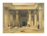 Temple of Philae Premium Giclee Print by David Roberts
