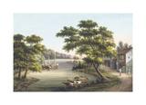 Oriental View I Premium Giclee Print by  Oriental School
