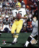 Green Bay Packers - Bart Starr Stretched Canvas Print