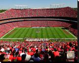Kansas City Chiefs Arrowhead Stadium Stretched Canvas Print