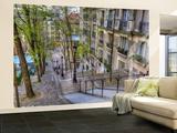 Montmartre in Paris Non-Woven Vlies Wallpaper Mural Papier peint