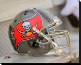 Tampa Bay Buccaneers Helmet Photo Stretched Canvas Print