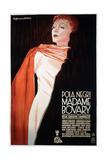 Madame Bovary, German Poster, Pola Negri, 1937 Giclee Print