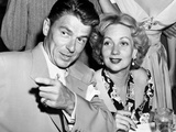 Ronald Reagan, Left, and Ann Sothern, at the Mocambo, 1948 Photo