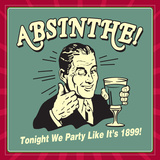 Absinthe1899 Prints by  Retrospoofs
