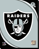 Oakland Raiders 2011 Logo Stretched Canvas Print