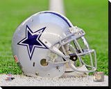 Dallas Cowboys Helmet Stretched Canvas Print