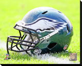 Philadelphia Eagles Helmet Stretched Canvas Print