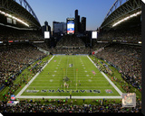 Seattle Seahawks CenturyLink Field 2014 Stretched Canvas Print
