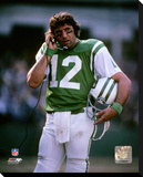 New York Jets - Joe Namath Stretched Canvas Print
