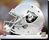 Oakland Raiders Photo Stretched Canvas Print