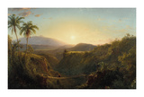 Pichincha Premium Giclee Print by Frederic Edwin Church