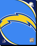 San Diego Chargers 2011 Logo Stretched Canvas Print