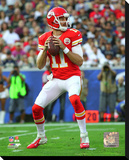 Alex Smith 2016 Action Stretched Canvas Print