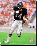 Walter Payton 1985 Action Stretched Canvas Print