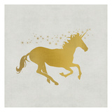 Unicorn Gold 1 Posters