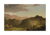 South American Landscape Premium Giclee Print by Frederic Edwin Church