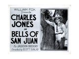 Bells of San Juan, Buck Jones, 1922 Giclee Print
