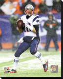 New England Patriots - Tom Brady Stretched Canvas Print