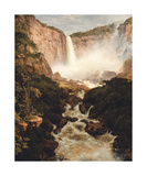 Tequendama Falls, near Bogota, New Granada Premium Giclee Print by Frederic Edwin Church
