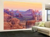 Hunts Mesa Sunrise Non-Woven Vlies Wallpaper Mural Vægplakat i tapetform
