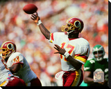 Doug Williams 1988 Action Stretched Canvas Print
