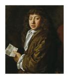 Samuel Pepys, 1666 Premium Giclee Print by John Hayls