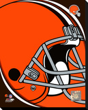 Cleveland Browns 2011 Logo Stretched Canvas Print