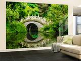 Japanese Garden Non-Woven Vlies Wallpaper Mural Wallpaper Mural