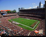 Cleveland Browns FirstEnergy Stadium 2014 Stretched Canvas Print