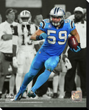 Carolina Panthers - Luke Kuechly Stretched Canvas Print