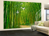Bamboo Forest Non-Woven Vlies Wallpaper Mural Vægplakat