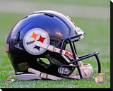 Pittsburgh Steelers Helmet Stretched Canvas Print