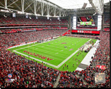 Arizona Cardinals University of Phoenix Stadium Stretched Canvas Print