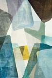 Blue Geometric II Prints by  PI Studio