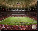 Atlanta Falcons Georgia Dome Stretched Canvas Print