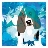 Dog in Color 1 Print