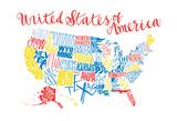 Bright Fun United States Prints