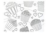 Cupcake Love Art