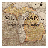 Story Michigan Print