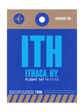 ITH Ithaca Luggage Tag II Prints by  NaxArt