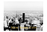 NYC Skyline Gold Prints