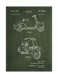 Vespa Poster von  Patent