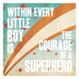 Superhero Power Affiches