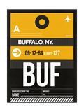 BUF Buffalo Luggage Tag II Prints by  NaxArt