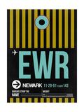 EWR Newark Luggage Tag II Prints by  NaxArt